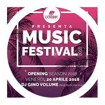 20 aprile dalle 19.00 alle 23.00 – Opening CERBEERmusicFESTIVAL 2018